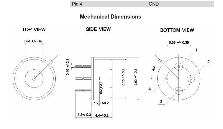 ts105-1 红外温度传感器
